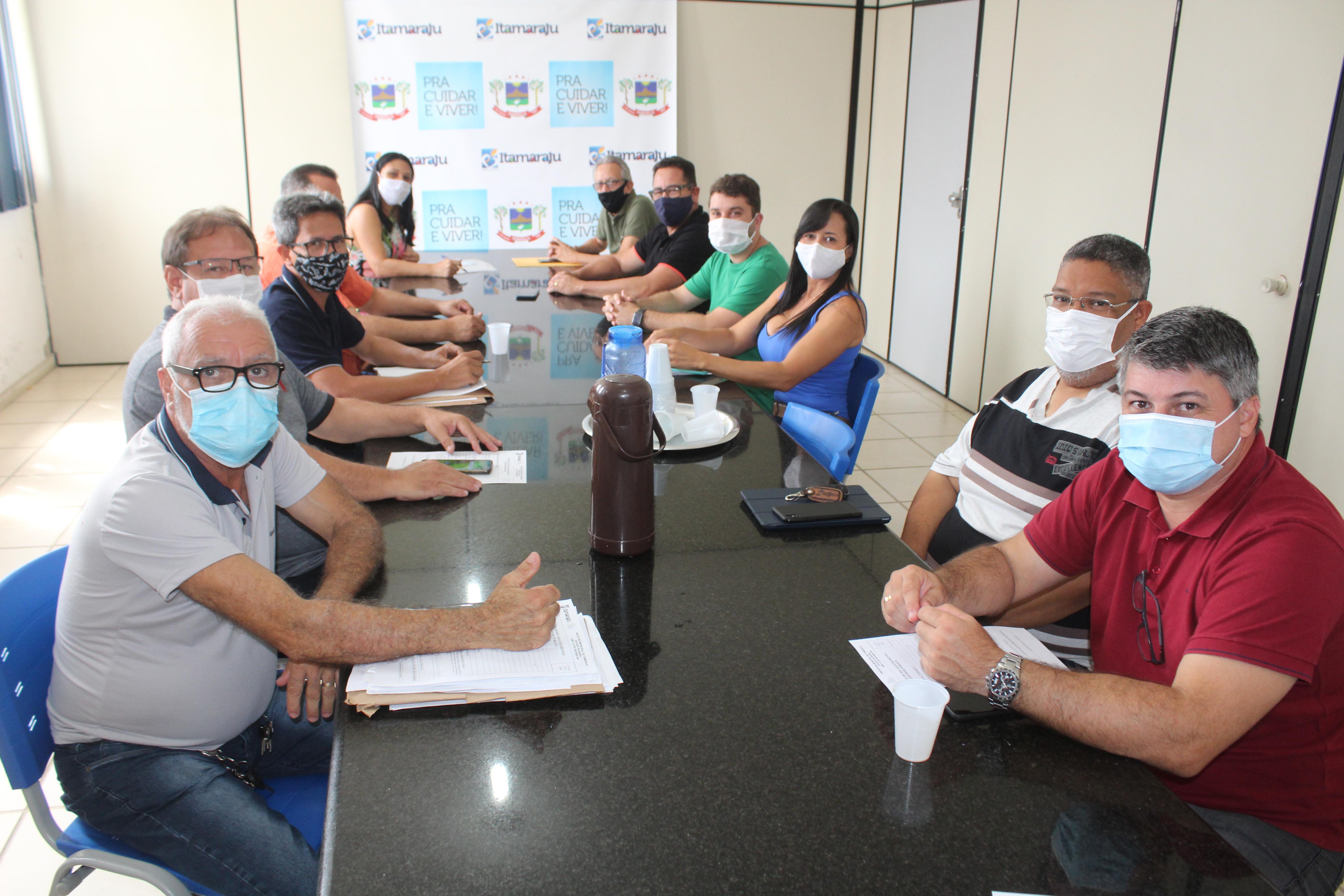 Prefeitura de Itamaraju realiza reunião de planejamento com secretários municipais