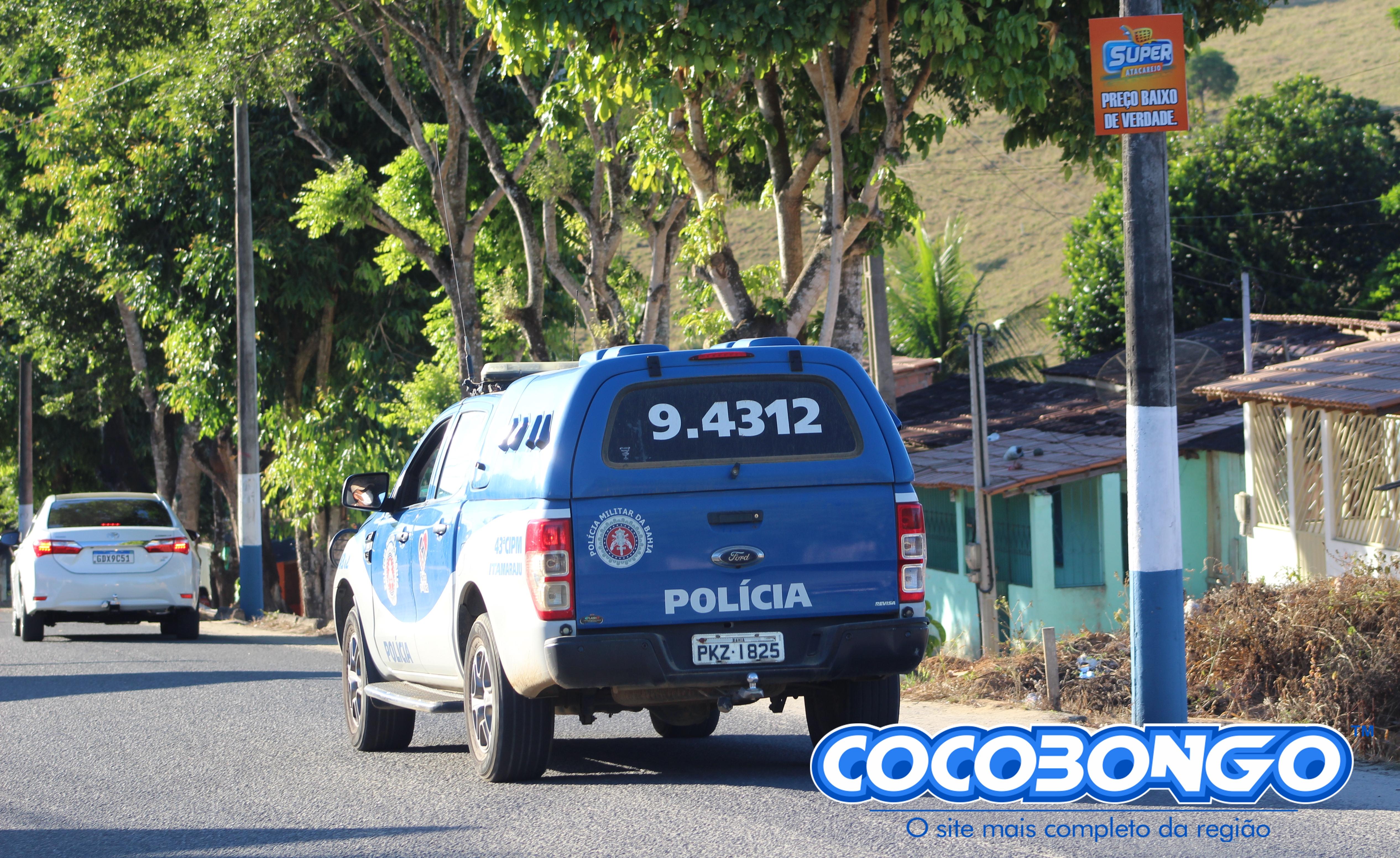 43ª CIPM/Itamaraju prende dupla por tráfico de drogas