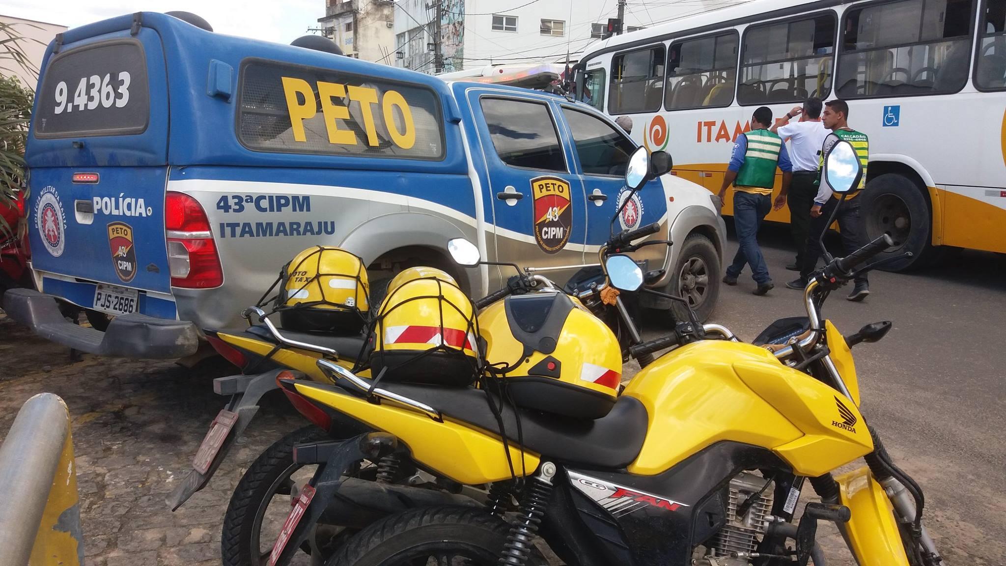 CPRSul - 43ª CIPM/Itamaraju emite comunicado sobre a paralisação do transporte regular de passageiros e manifestação em Itamaraju.