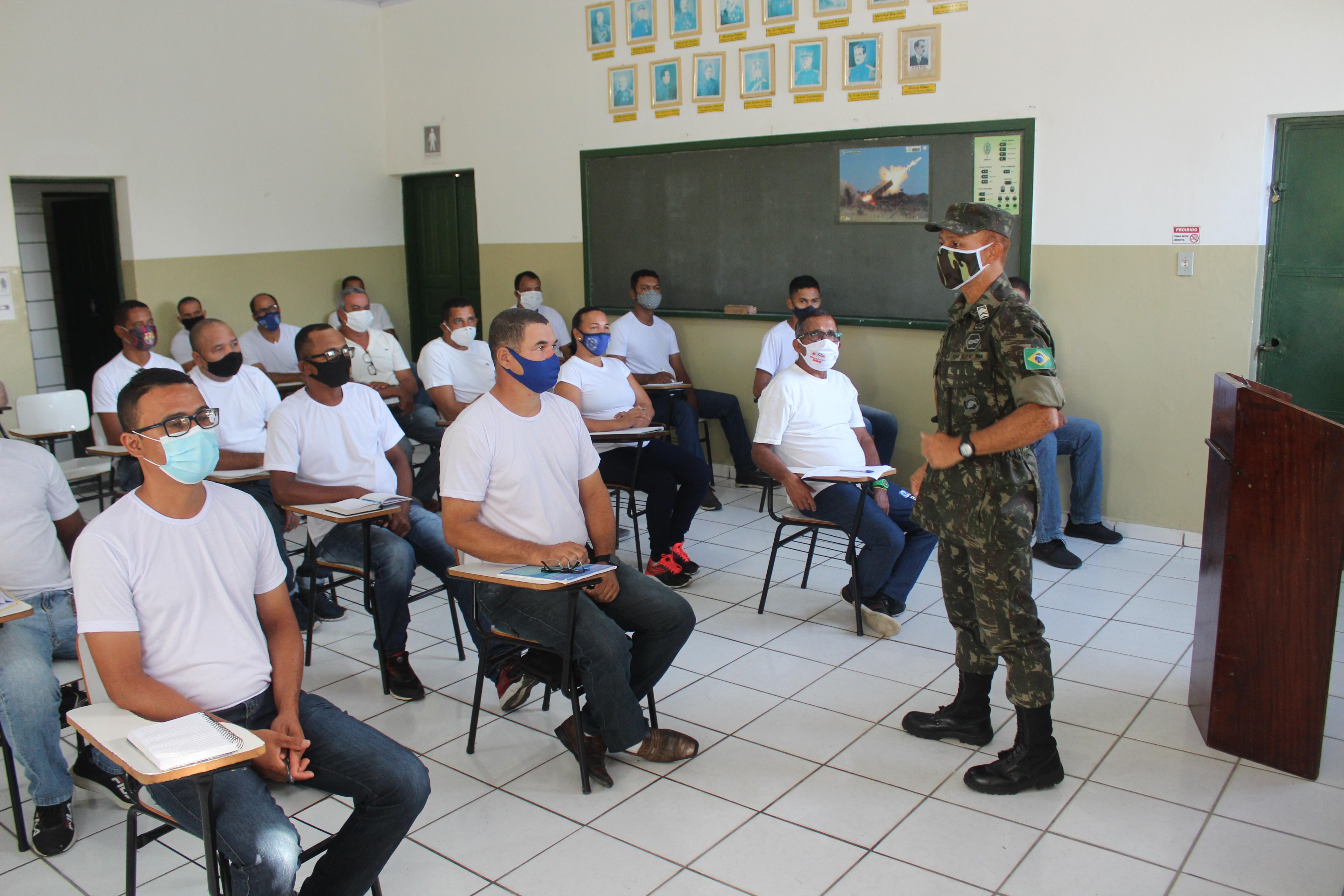 Tiro de Guerra 06.025 realiza instrução de Guardas Municipais de Itamaraju