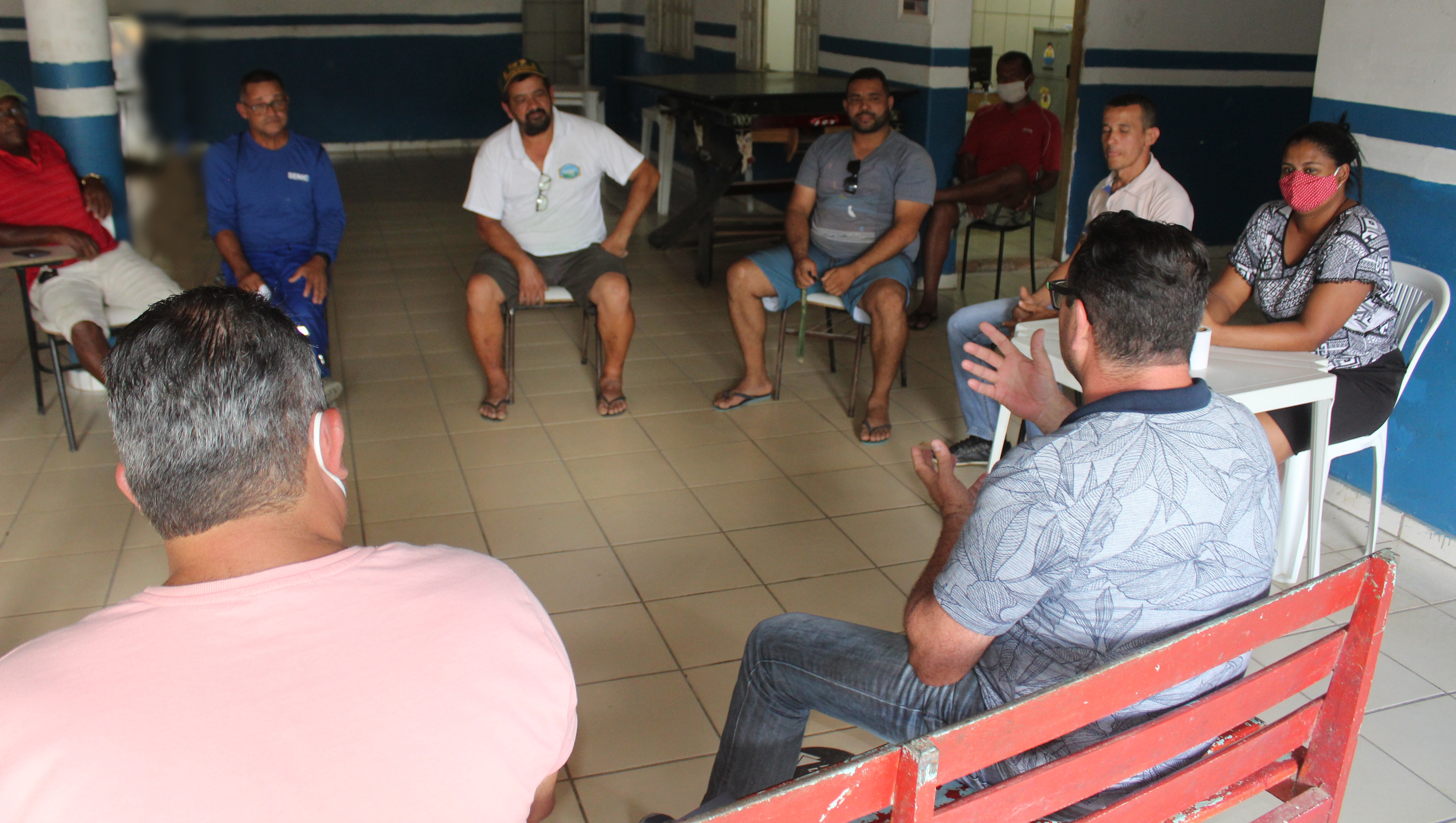 Prefeitura de Itamaraju participa de reunião com agricultores do distrito de Nova Alegria
