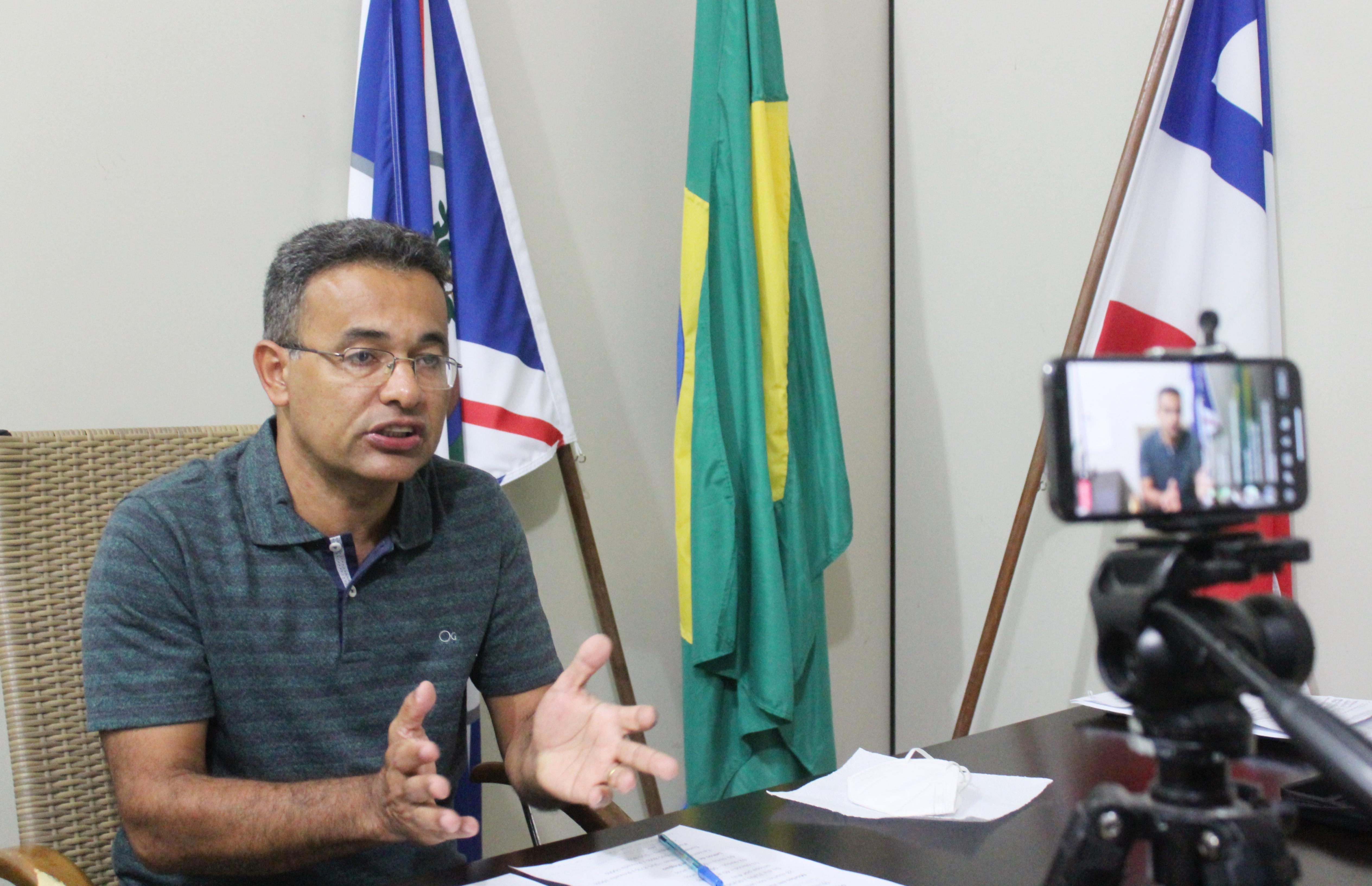Prefeito de Itamaraju anuncia novas medidas de restrições e fechamento do comercial