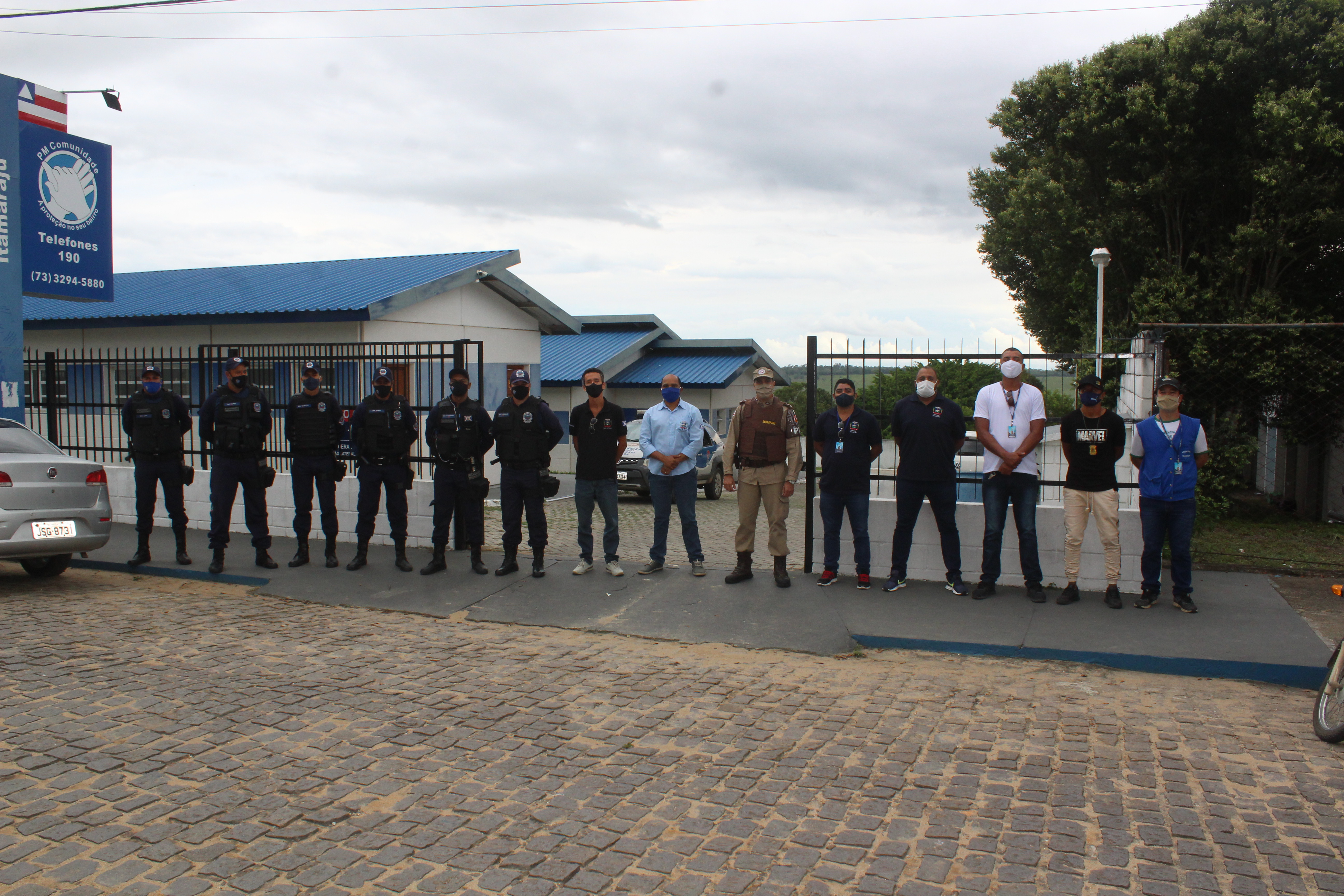 Prefeitura de Itamaraju e forças de segurança atuam em cumprimento ao decreto