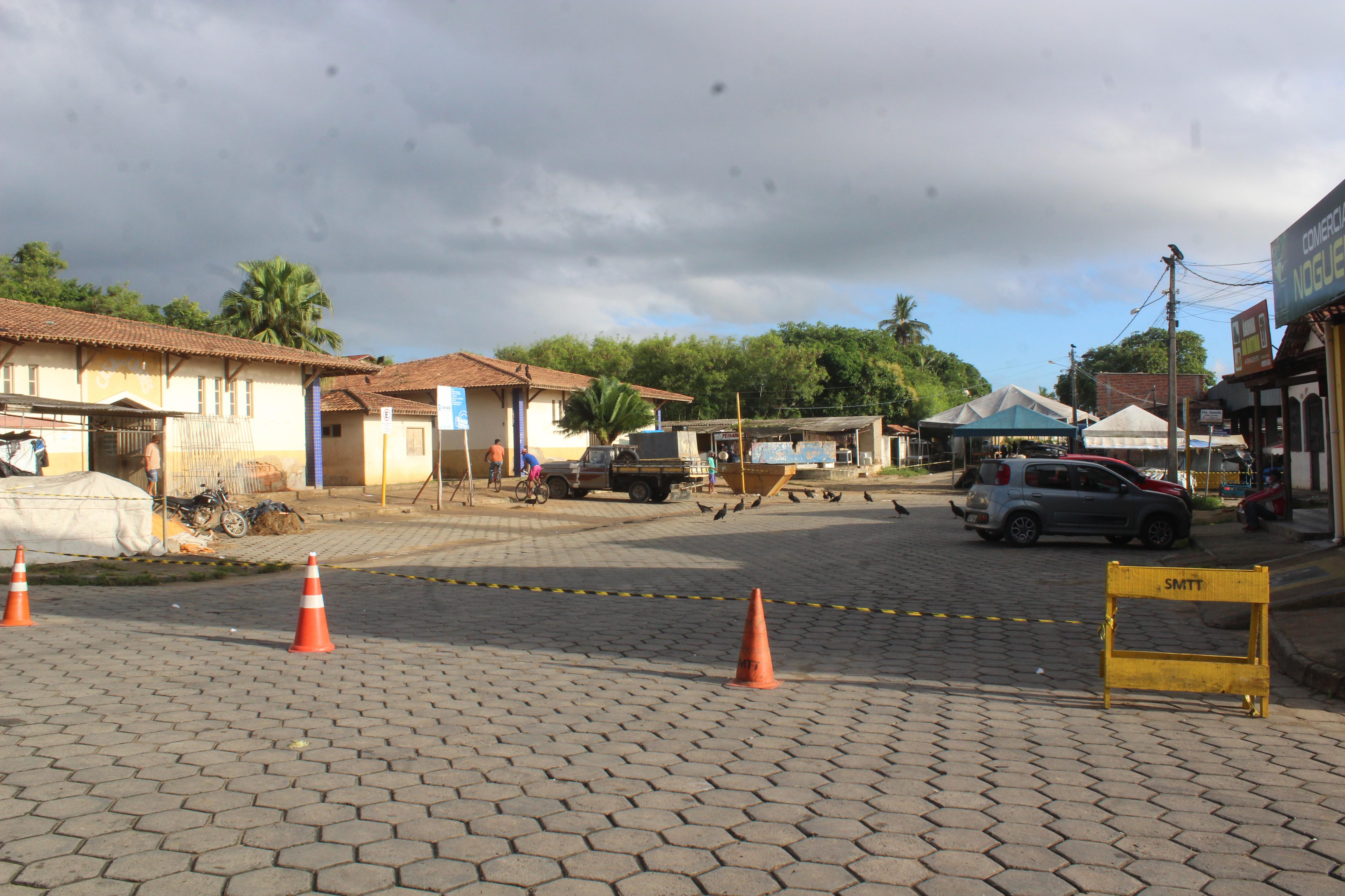 Feiras livres de Itamaraju tem atividades suspensas por força de decreto municipal