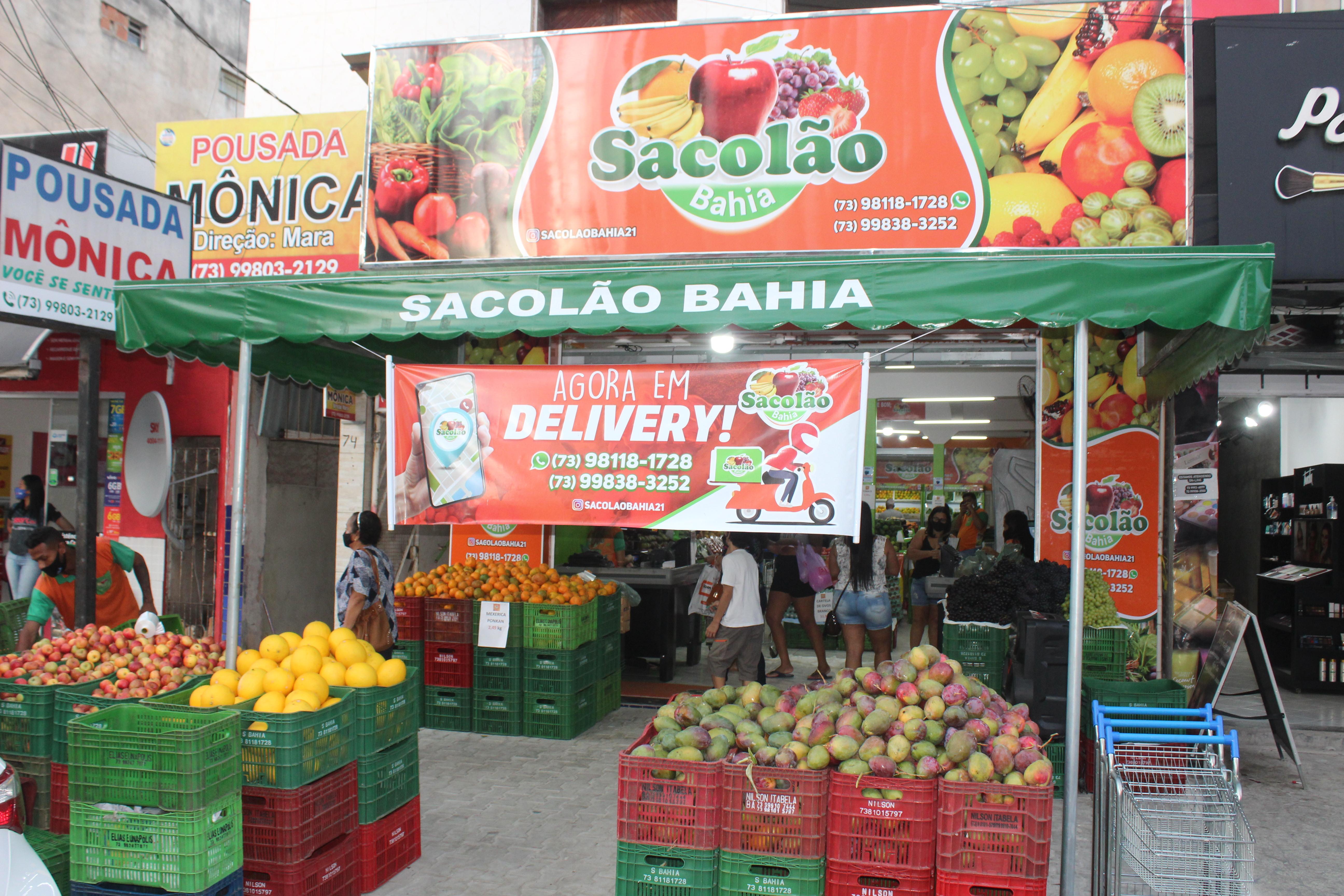 Sábado e Domingo de ofertas e promoções no Sacolão Bahia