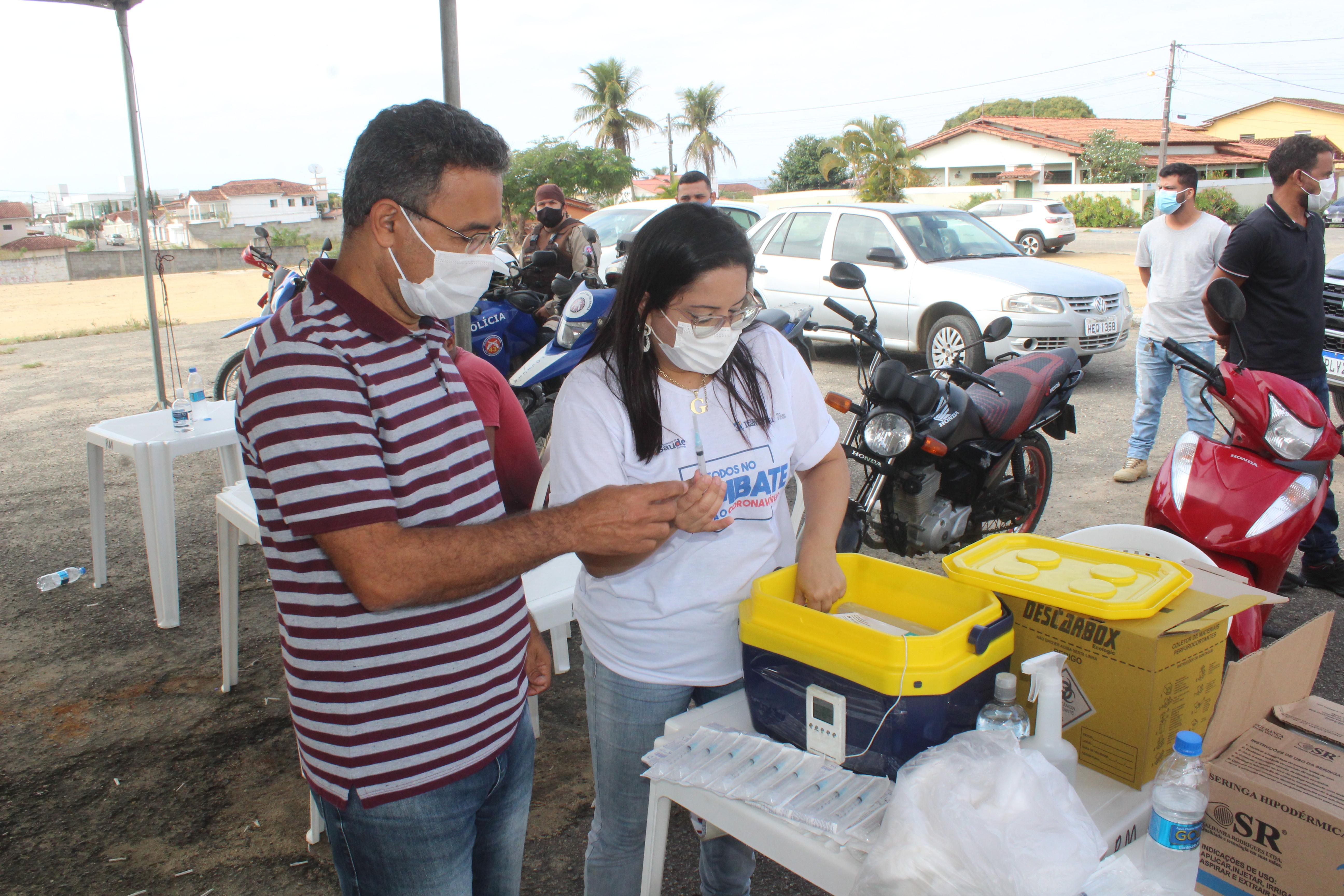 Secretaria de Saúde da Prefeitura de Itamaraju realiza 10ª edição do Drive Thru